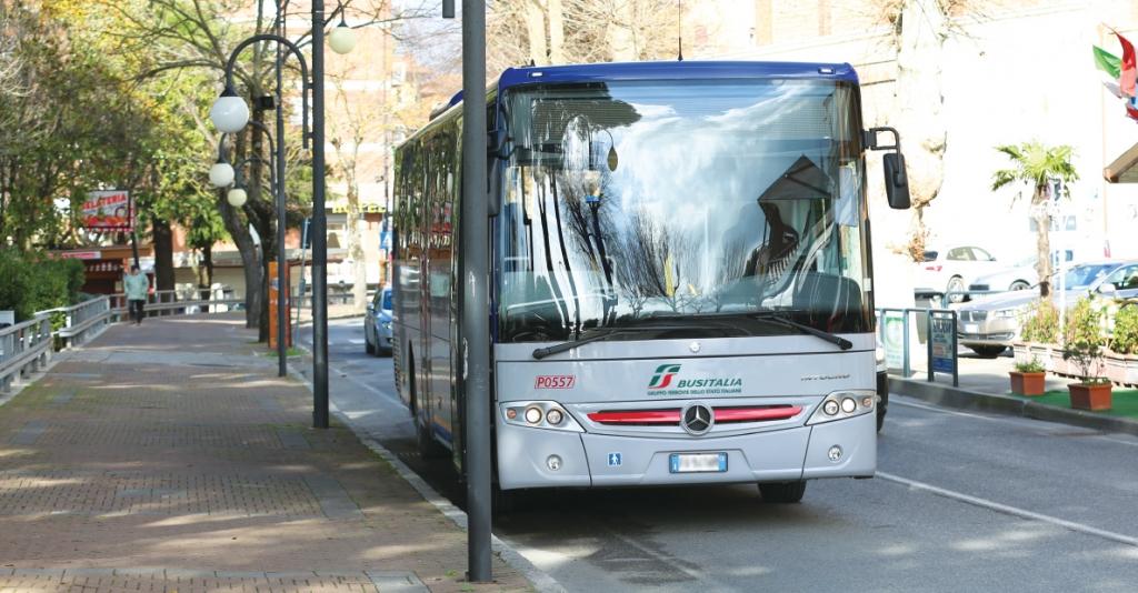 Servizio Extraurbano Bus Italia -  Amelia Mura - Stazione FS di Narni-Amelia - Stazione FS di Terni